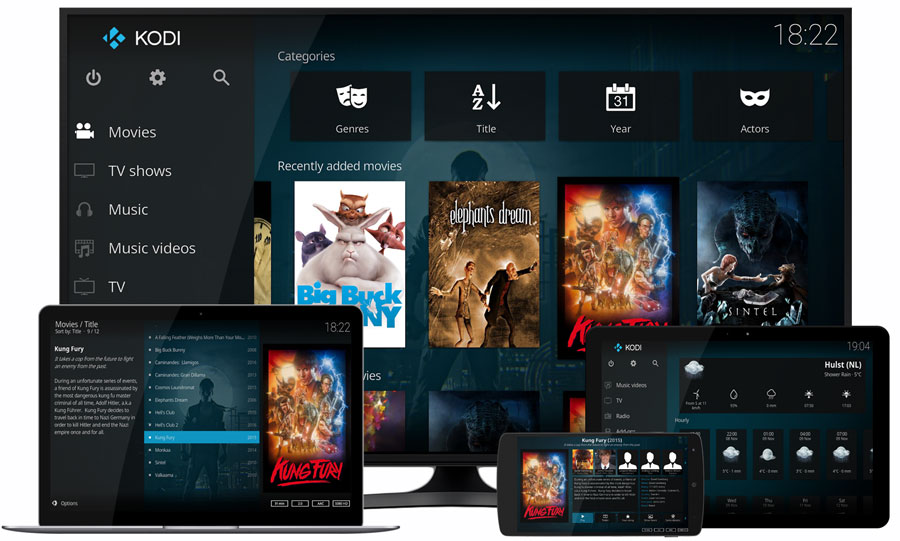 Kodi devices