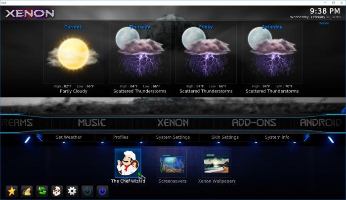 Build Xenon Video User Manual – Shredz